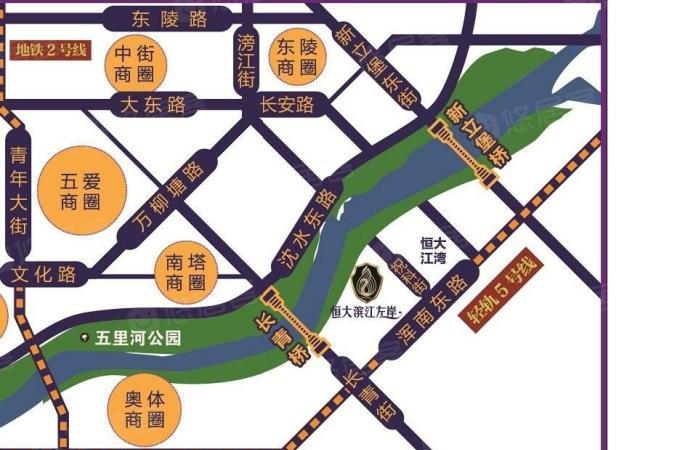 浑南,建筑大学,恒大滨江左岸