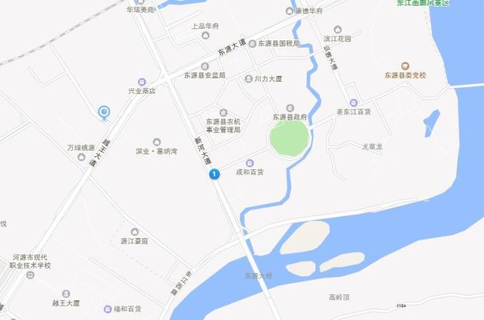 东源县,东源县,江景湾