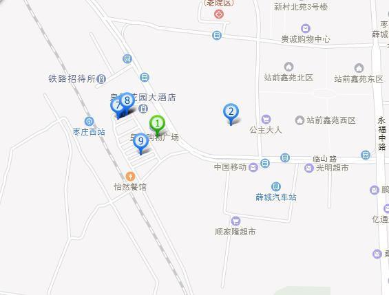 薛城区,薛城,皇冠小商品市场