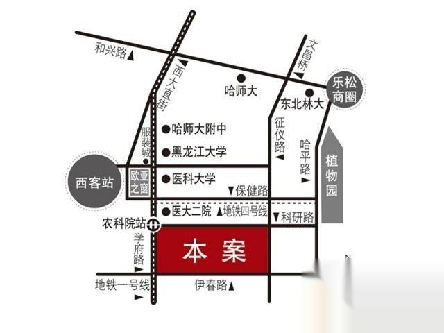 南岗区,哈西,鲁商松江新城