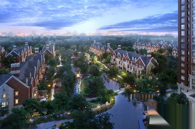 开发区,天山大街,红石原著源墅
