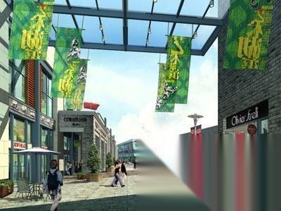 浦东新区,航头,咸塘商业步行街