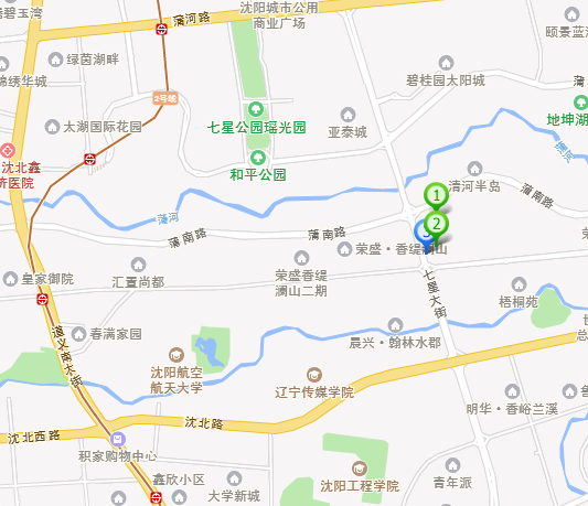 沈北新区,蒲河,金沙星城