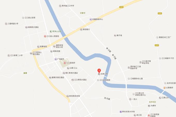 江口县,江口县,水岸江南
