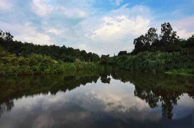 澄迈县,,天朗椰岛小城