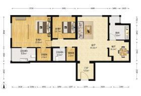 朝阳区,CBD,圣世一品,圣世一品,2室2厅,156.29㎡