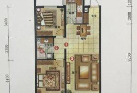 和平区,长白,万科鹿特丹,万科鹿特丹,2室2厅,91.87㎡