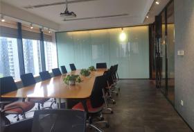 业主直租,5隔间+1会议室15工位精装带家具,三面采光南北西