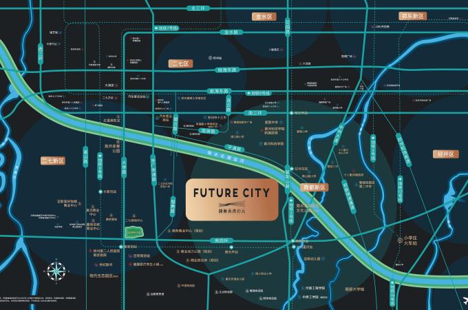 管城区,,康桥未来公元