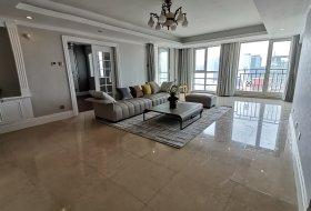光彩国际公寓高层四居豪华装修全新品牌家具电器