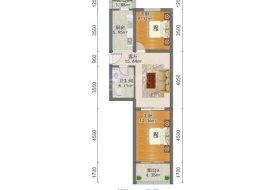河北区,新开河街,东锦里,东锦里,2室1厅,75.8㎡